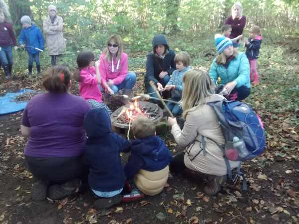 Safe Campfire Cooking with the Freelance Ranger at Castle Kennedy Gardens