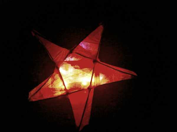Dark Sky Rangers love being out after dark andwe use red lights like this lantern to keep our dark adapted night vision